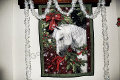 Christmas Horse Wallhanging - 2014
