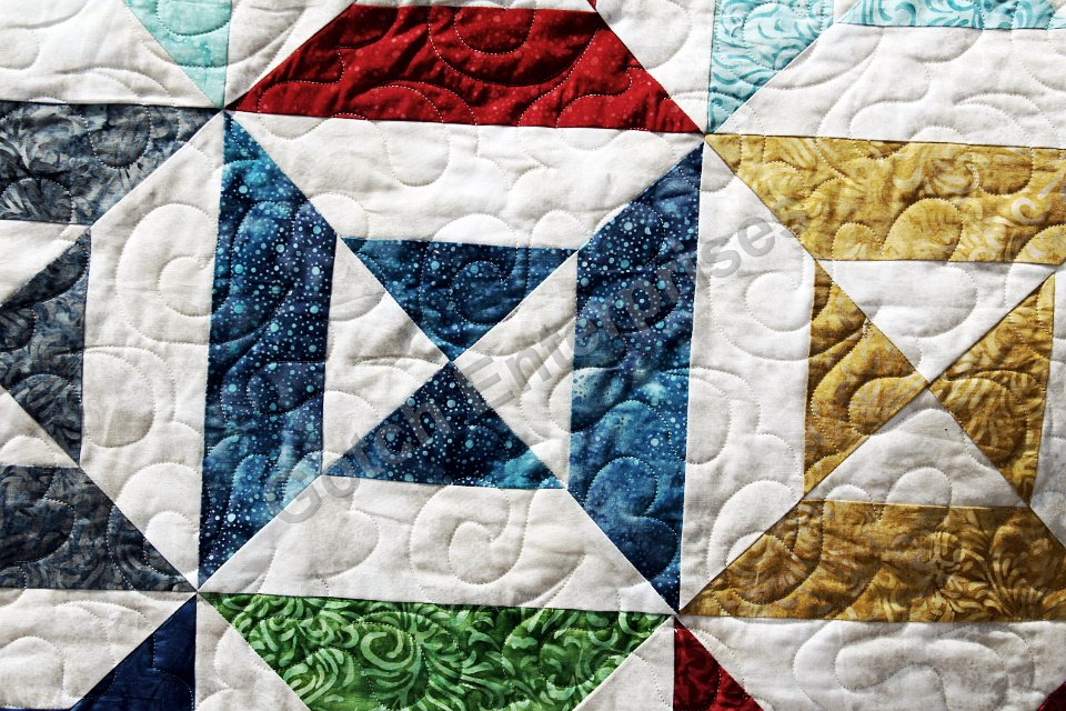 Rainbow Time 2015 Quilting