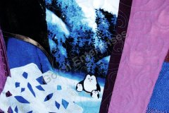 Frozen Sisters  - 2015 Quilting and penguins