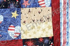 Wave the Flag - 2015 Quilting