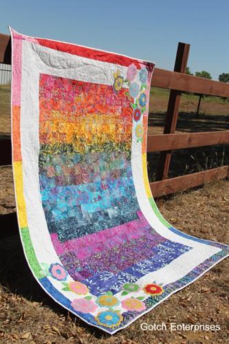 Hippe Rainbow Flowers 2015